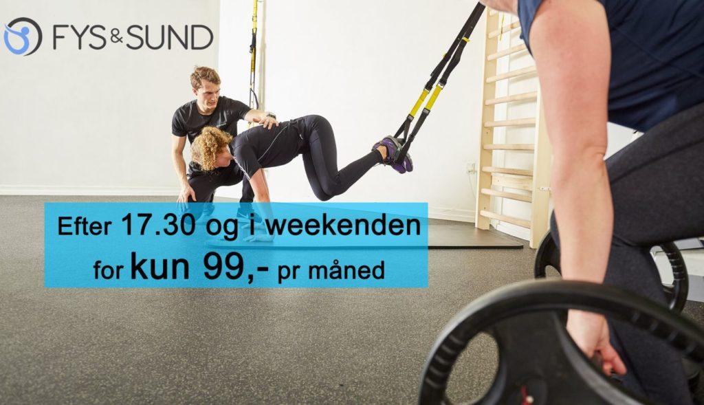 Genoptræning i lækkert sundhedscenter i Randers